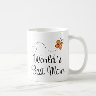 World's Best Mom Mother's Day Gift Mug