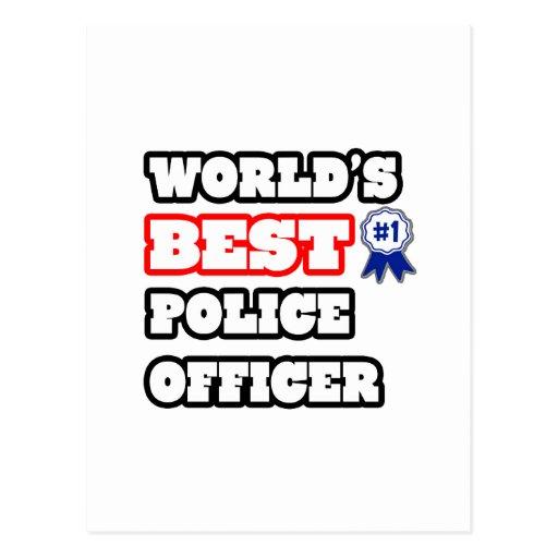 Funny Law Enforcement Postcards & Postcard Template Designs