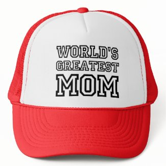 World's Greatest Mom custom hat