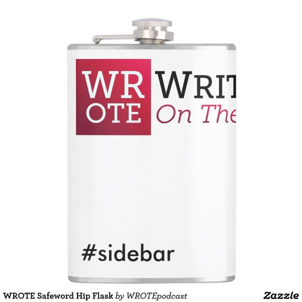 WROTE Safeword Hip Flask