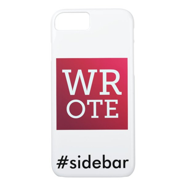 WROTE Safeword iPhone Case