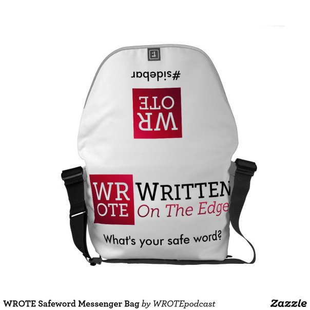 WROTE Safeword Messenger Bag