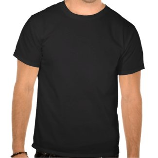 WTF wht hvy blk tee men tee shirt