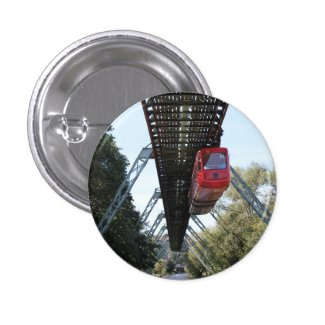 Wuppertal Floating Train / Wuppertaler Schwebebahn Button