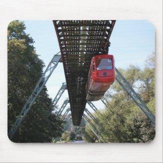 Wuppertal Floating Train / Wuppertaler Schwebebahn Mousepad
