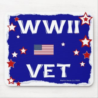 WWII Vet - In Honor - Mousepad
