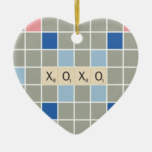 XOXO CERAMIC ORNAMENT