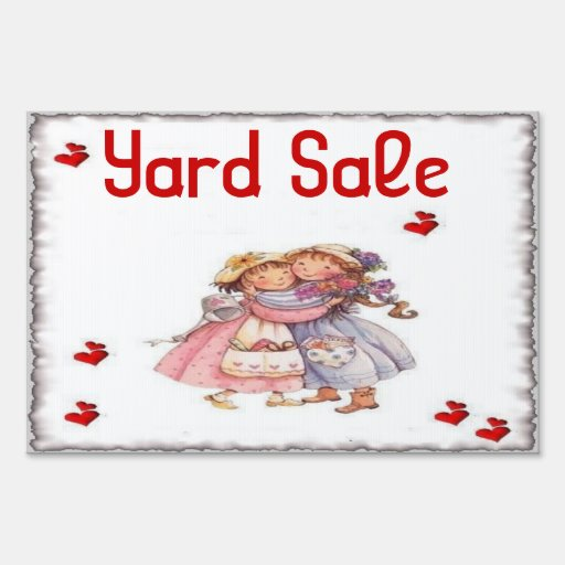 Cute Yard Sale Signs Pictures To Pin