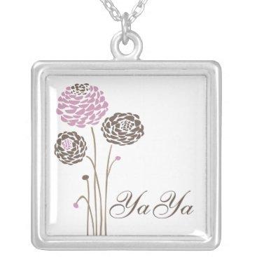 YaYa Necklace Stylish Dahlia Flowers
