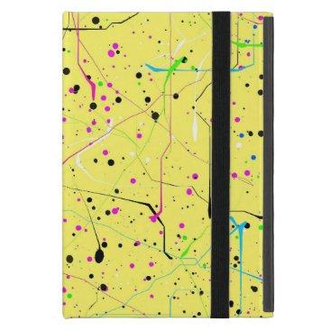 Yellow chaos iPad mini cover