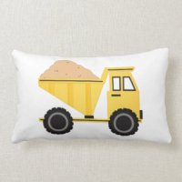 Dump Truck Pillows