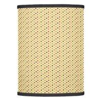 yellow polka dot pattern lamp shade | Zazzle