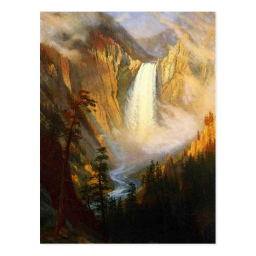 Yellowstone Falls Postcard