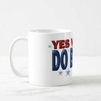 Yes We Can Do Better (1a) - Mugs - Just Say It mug