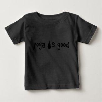 Yoga is Good Organic Infant Creeper shirt