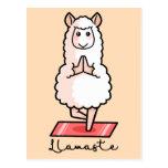❤️ Yoga Llama - Llamaste Postcard