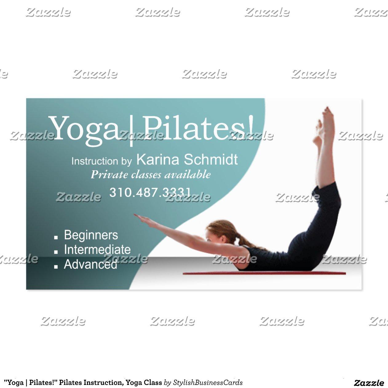 """yoga Pilates "" Instruction Yoga Class Double"