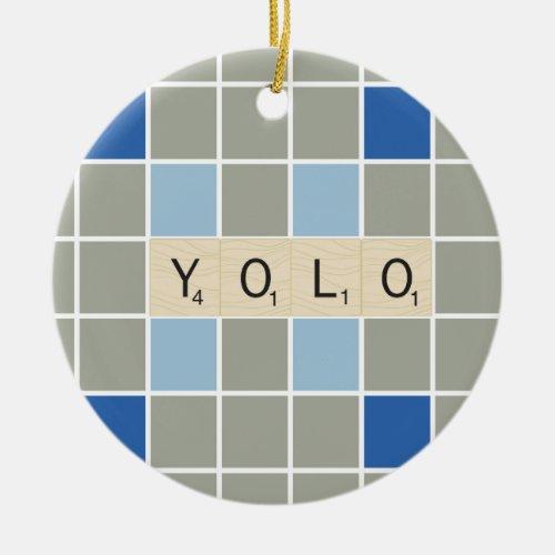 YOLO CERAMIC ORNAMENT
