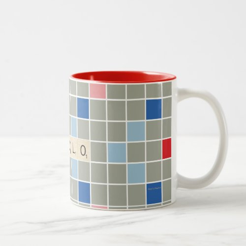 YOLO Two-Tone COFFEE MUG
