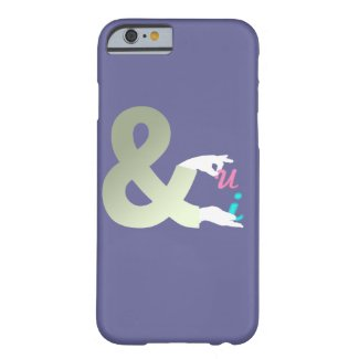 You and I (U&I) Barely There iPhone 6 Case
