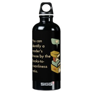 You Can Tell A Reader by the House Cleanliness SIGG Traveler 0.6L Water Bottle