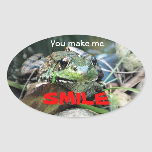 You make me smile. sticker