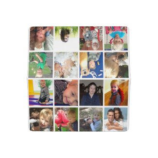 Your Personalized Photo Collage Checkbook Cover