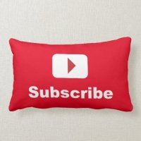 Lumber Pillow. Youtube Channel Subscribe Pillows Zazzle ...