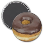 Yummy Chocolate Donut Fun Food Magnet