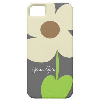 Zen Daisy Personalized iPhone 5 Case-Mate Case