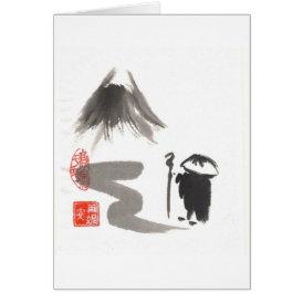 Zen Pilgrim Blank Card