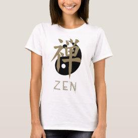 Zen yin yang Women's T Shirts