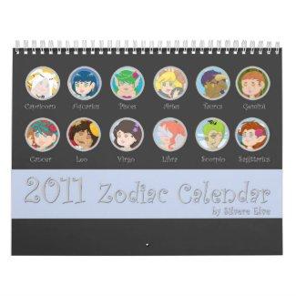 Zodiac Calendar calendar