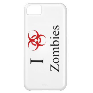 Zombie Survival Tips, I Love Zombies Case For iPhone 5C