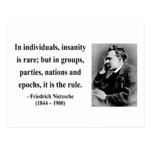Nietzsche Zitat B Postkarte
