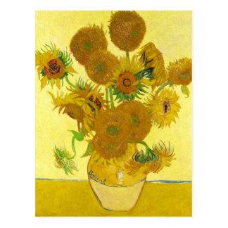 Sonnenblumen In Einem Vase Postkarten  Zazzlede