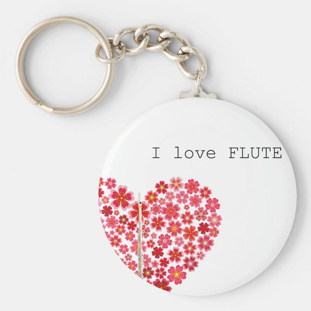 I love FLUTE キーホルダー
