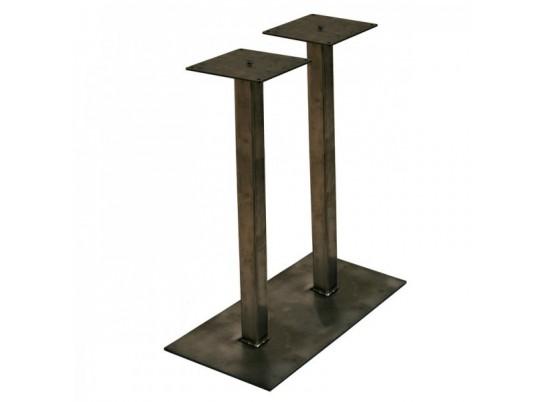 Pied De Table Mange Debout Indus En Metal Pt11md Rm Mobilier