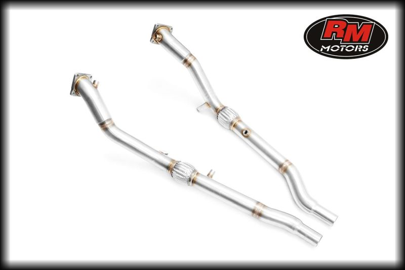 Downpipe AUDI A4,S4,RS4 2.7 biturbo b5 8d RM MOTORS 212107