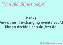 just adopt