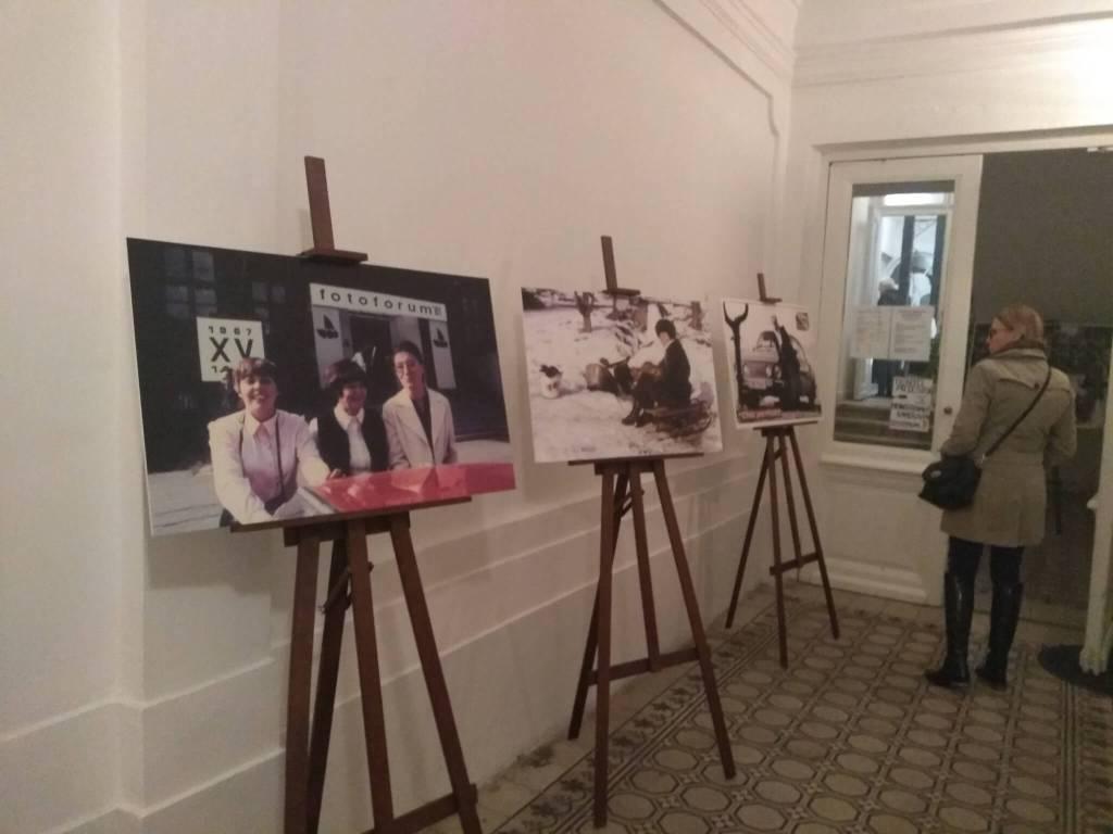 Výstava Eleny Klimešovej bude v Mestskej knižnici sprístupnená do 29.novembra. (Zdroj:autorka)