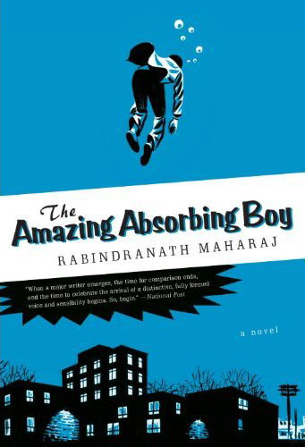 Amazing Absorbing Boy cover
