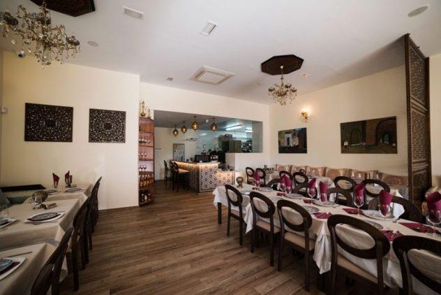Salón del Restaurante Marhaba