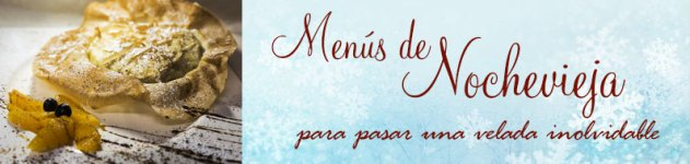 Banner menús de Nochevieja