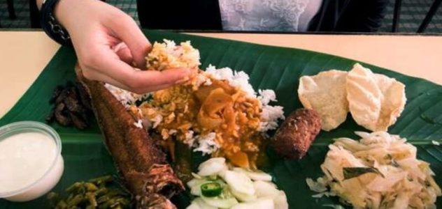 comer con las manos
