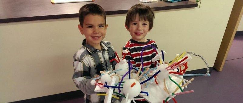 Montessori Experience Two Boys