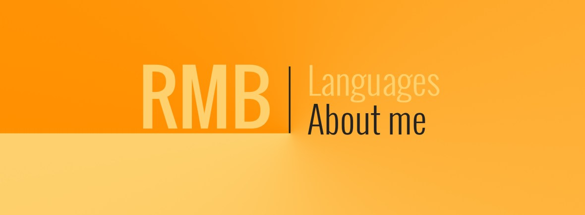 RMB Languages about