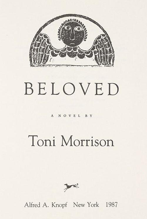 Quotes Toni Morrison Beloved. QuotesGram
