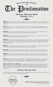 acyi attendance awareness proclamation