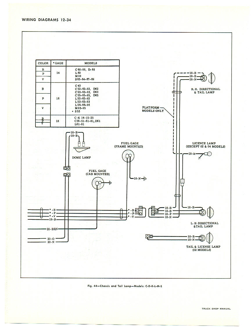 hight resolution of 64 chevy pickup wiring diagram 64 free engine image for